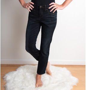 Madewell Skinny Crop Black Jeans